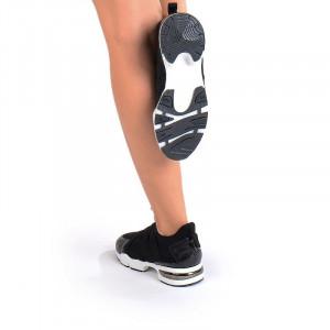 Pantofi sport la moda Alma negru