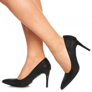 Pantofi stiletto cu toc mediu Clarice