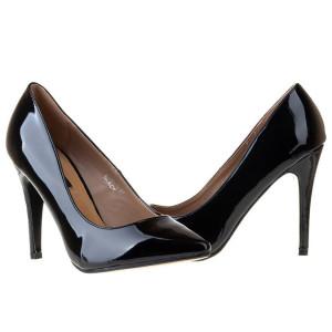 Pantofi stiletto din lac Antonia