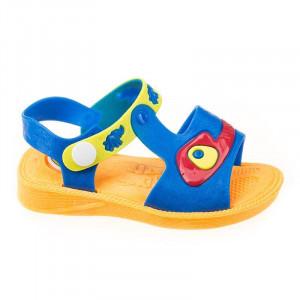 Sandale copii unisex cu sonerie in talpa Andrew blu