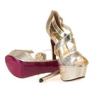 Sandale cu platforma la moda Mia