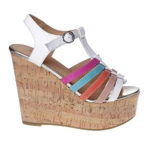 Sandale cu talpa inalta Karina