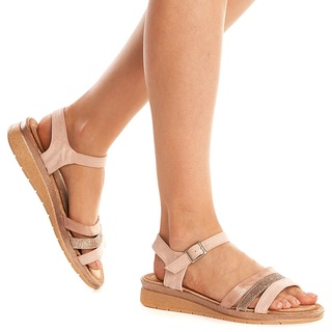 Sandale Dama Aurii Usoare cu Talpa Joasa Mira Oro
