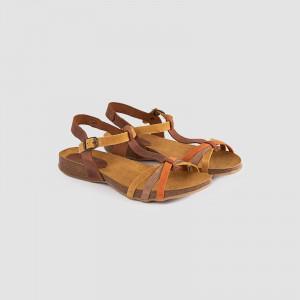 Sandale dama, CARINA , Mustar