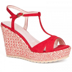 Sandale dama, CLAIRE, Rosu