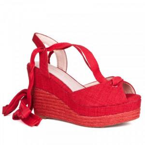 Sandale dama, COCO, Rosu