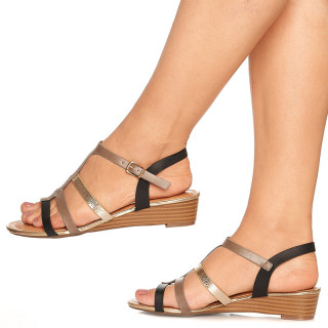 Sandale Dama cu Talpa Joasa Benita