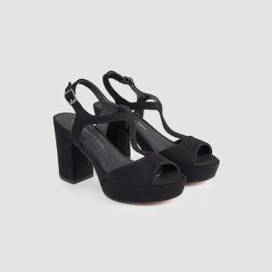 Sandale dama, EMILITA, Negru