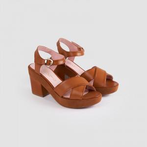 Sandale dama, GALA, Tan