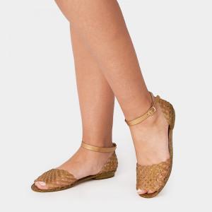 Sandale Dama, Lexi, Auriu 2