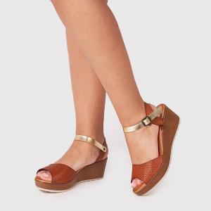 Sandale Dama, NOVA, Tan