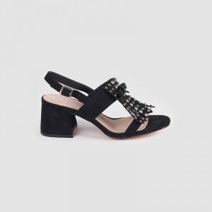 Sandale Dama, WAKA, Negru