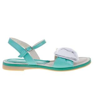 Sandale din piele naturala Via Amelia