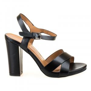 Sandale elegante cu toc Alberta