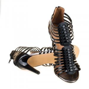 Sandale romane cu toc Alberta