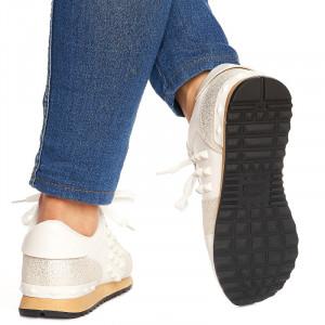 Sneakers Adelle alb