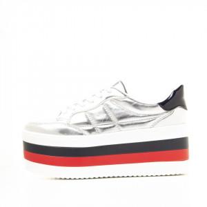 Sneakers Alicia argintiu