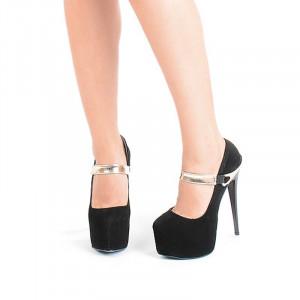 Pantofi cu platforma Bianca
