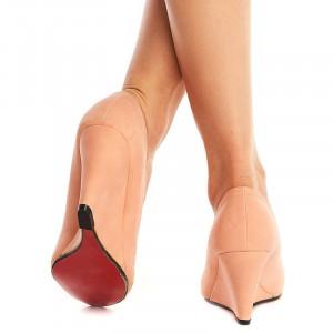 Pantofi cu platforma Susana rosa