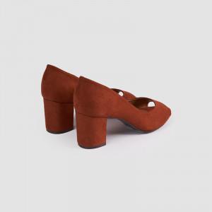 Pantofi Dama, GIANNI, Tan