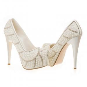 Pantofi de mireasa Bianca