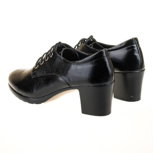 Pantofi office chic cu siret Bianca