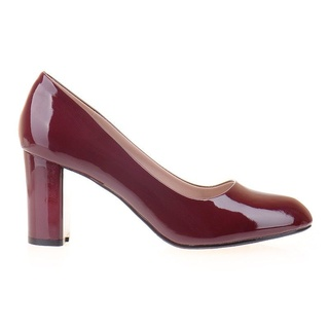 Pantofi office cu toc gros comod Alma
