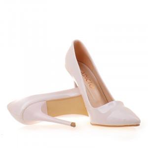 Pantofi stiletto Abelle bej