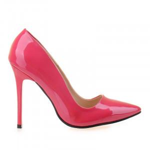 Pantofi stiletto Anette fucsia