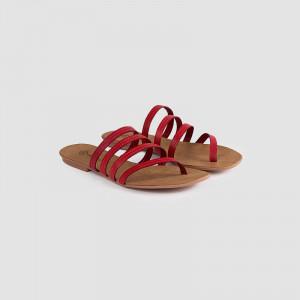 Papuci dama, IDALIA, Rosu