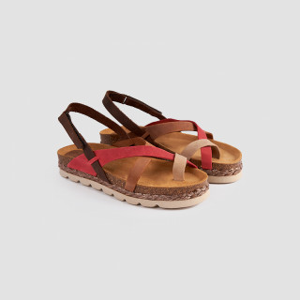 Sandale Dama, HARMONY, Rosu