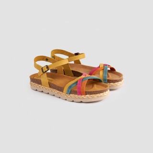 Sandale dama, LOLA , Portocaliu