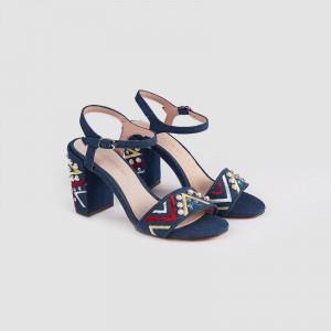 Sandale Dama, PERLA, Jeans