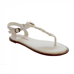 Sandale Dama, RONA, Alb
