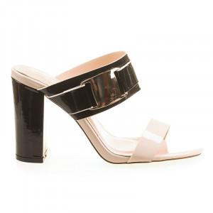 Sandale elegant cu toc Sonia