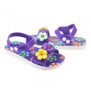 Sandale fete Alma mov
