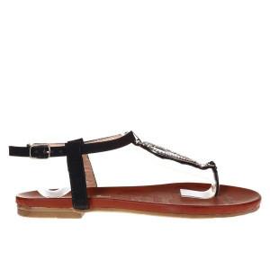 Sandale negre Viviene