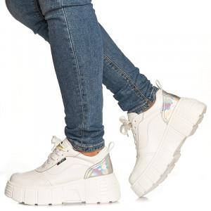 Sneakers Antonia alb