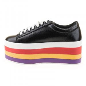Sneakers cu talpa inalta Antonia blk