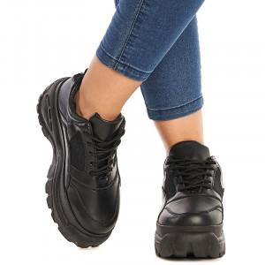 Sneakers dama Chloe negru