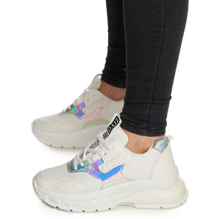Sneakers Madelina alb