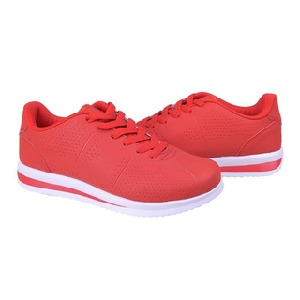 Sneakers trendy neon Salma rosso