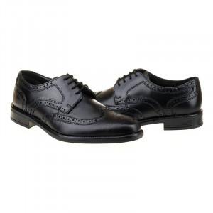 Pantofi office din piele naturala italiana Estachio