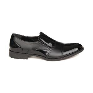 Pantofi barbati eleganti cu insertie de lac Daniel