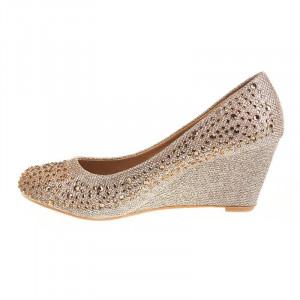 Pantofi cu platfroma chic Carla kaki