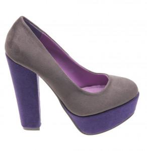 Pantofi de dama grey/purple Sky