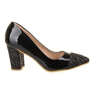 Pantofi de ocazie cu glitter Alessia