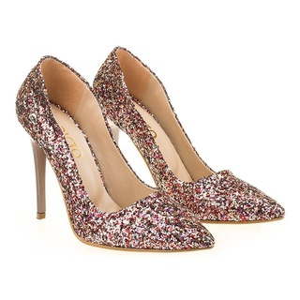 Pantofi de ocazie glitter Amalia