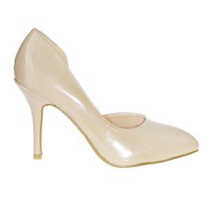 Pantofi Decupe crem