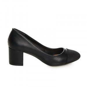 Pantofi office cu toc Althaia negru
